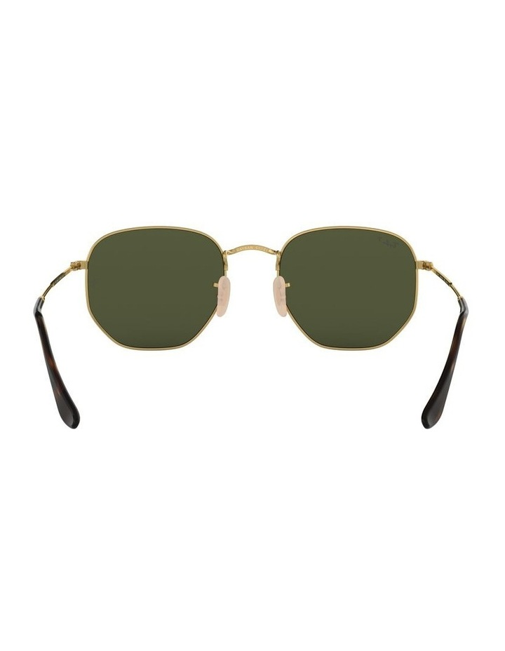 Hexagonal Polarised Green Sunglasses 0RB3548N 1511212025 image 7
