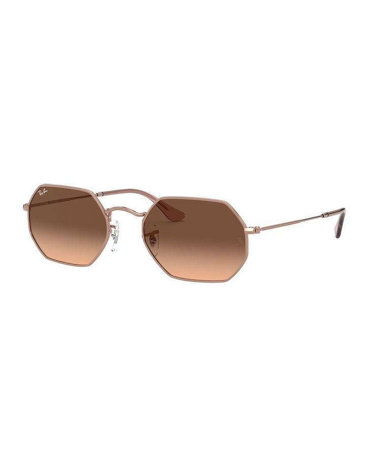 Octagonal Brown Sunglasses 0RB3556N 1513005008 image 1