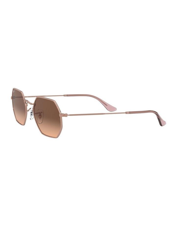 Octagonal Brown Sunglasses 0RB3556N 1513005008 image 3