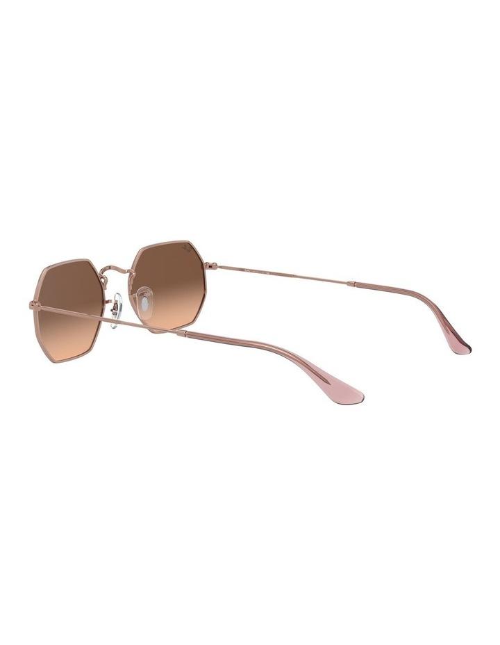 Octagonal Brown Sunglasses 0RB3556N 1513005008 image 5