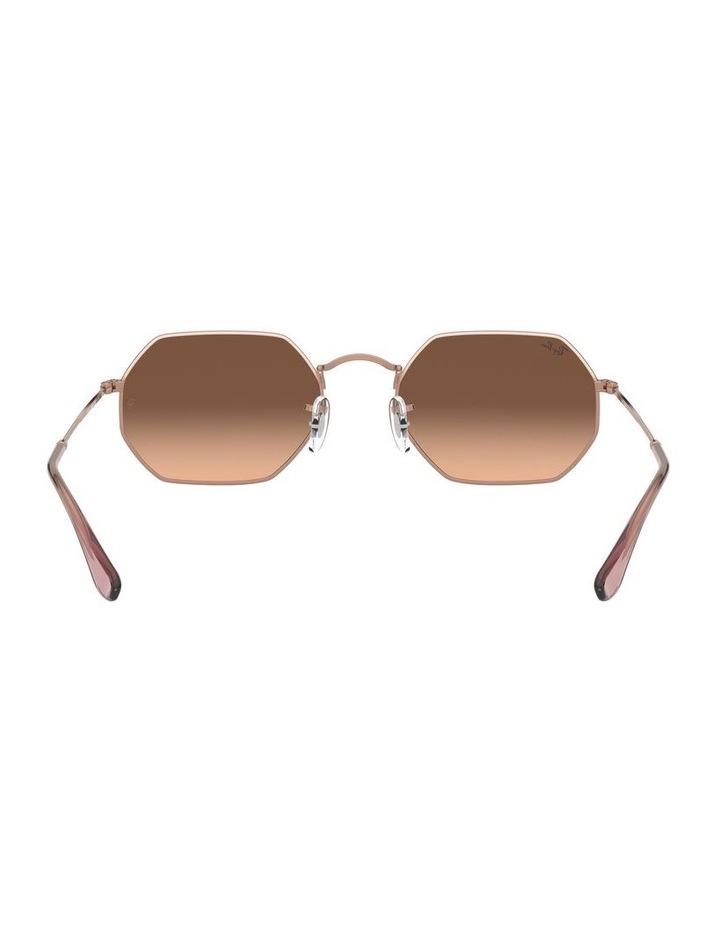 Octagonal Brown Sunglasses 0RB3556N 1513005008 image 7