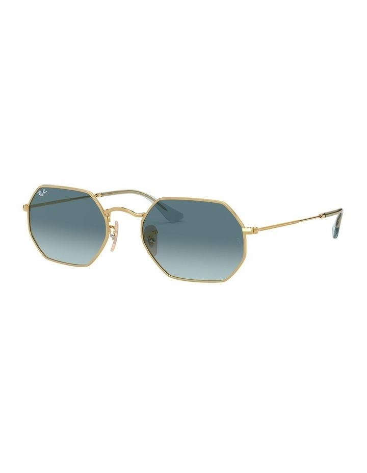Octagonal Blue Sunglasses 0RB3556N 1513005009 image 1