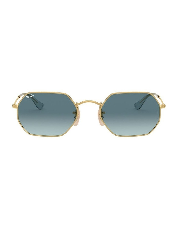Octagonal Blue Sunglasses 0RB3556N 1513005009 image 2