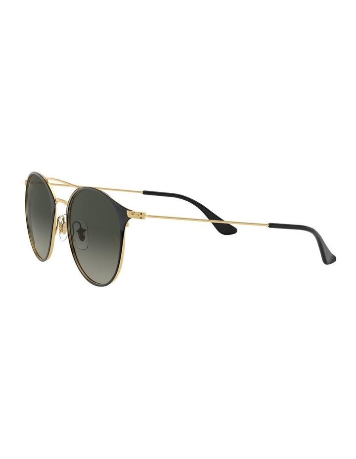 Grey Double Bridge Round Sunglasses 0RB3546 1513014002 image 3