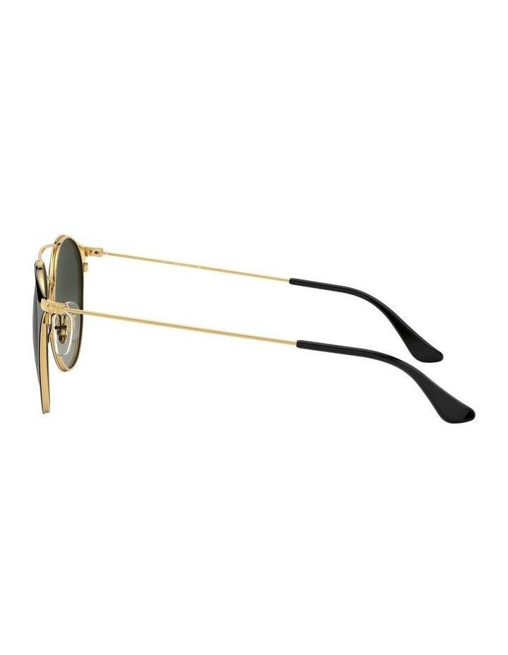 Grey Double Bridge Round Sunglasses 0RB3546 1513014002 image 4