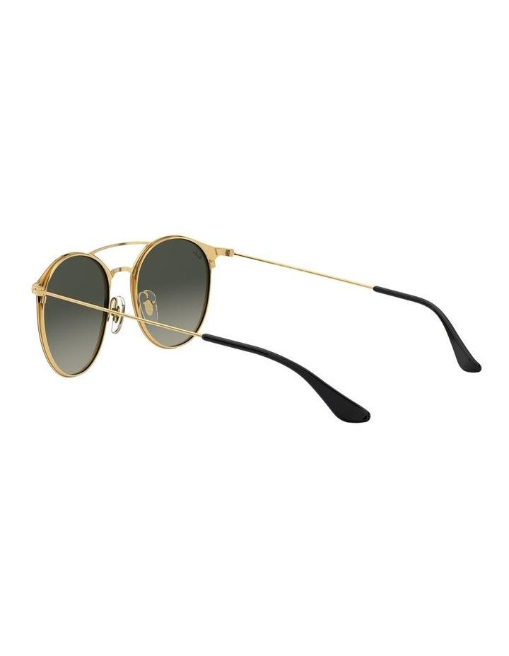 Grey Double Bridge Round Sunglasses 0RB3546 1513014002 image 5
