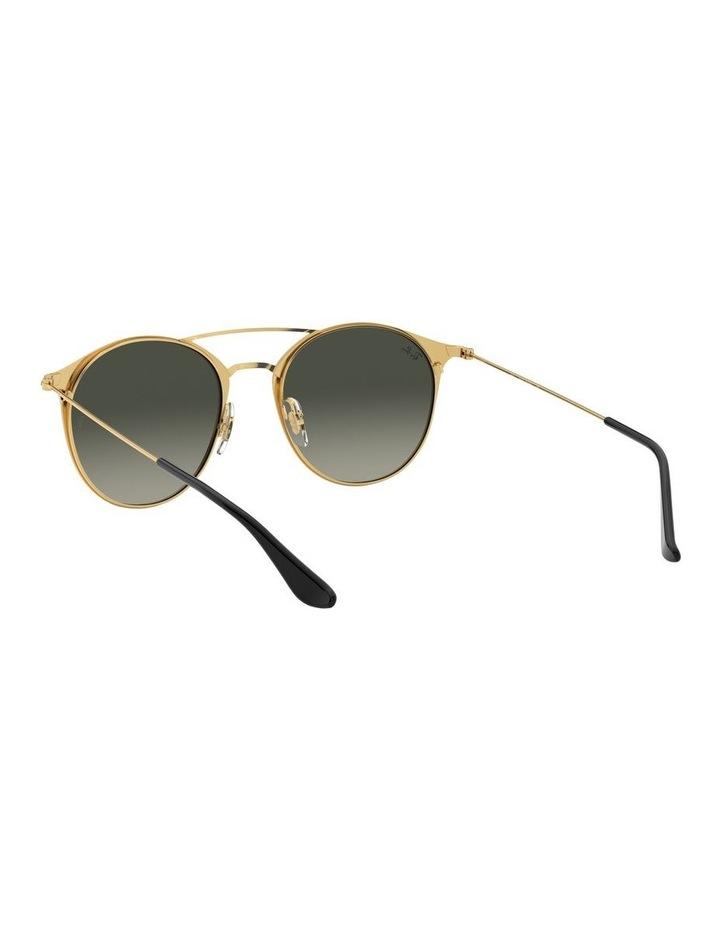 Grey Double Bridge Round Sunglasses 0RB3546 1513014002 image 6