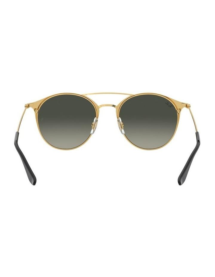 Grey Double Bridge Round Sunglasses 0RB3546 1513014002 image 7