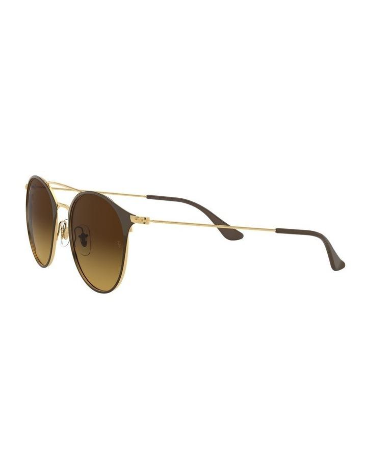 Brown Double Bridge Round Sunglasses 0RB3546 1513014003 image 3
