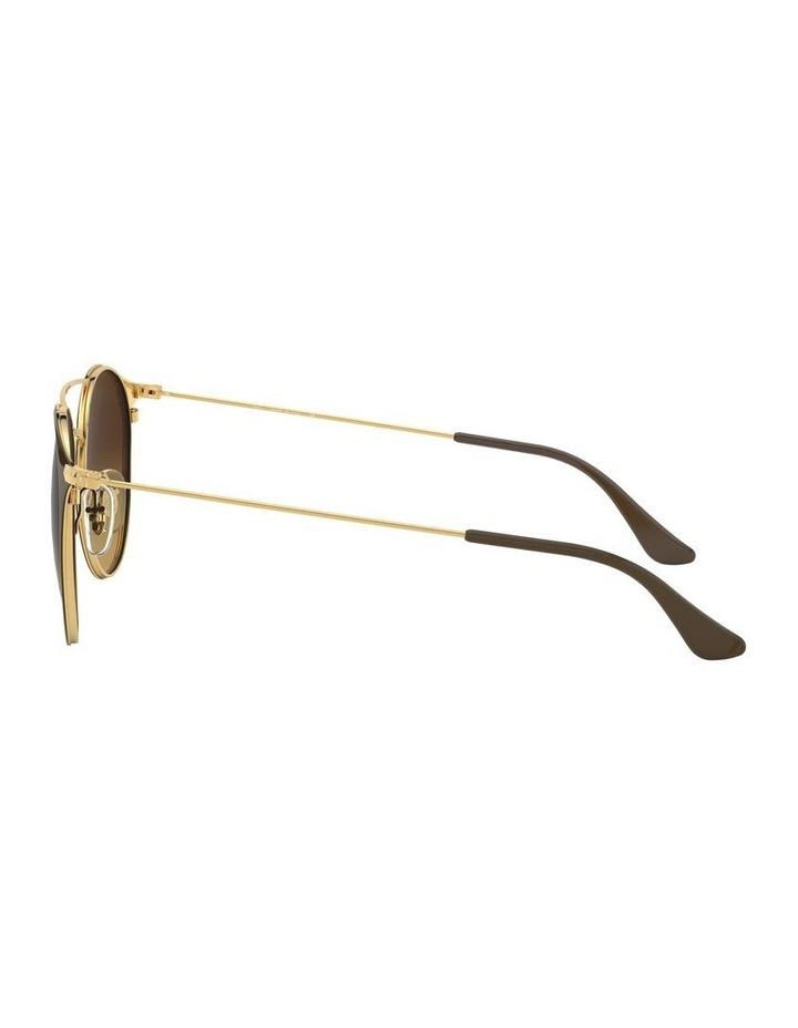 Brown Double Bridge Round Sunglasses 0RB3546 1513014003 image 4