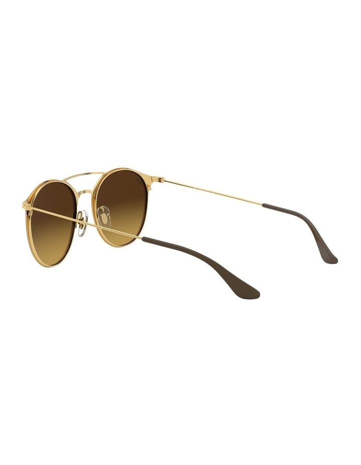 Brown Double Bridge Round Sunglasses 0RB3546 1513014003 image 5