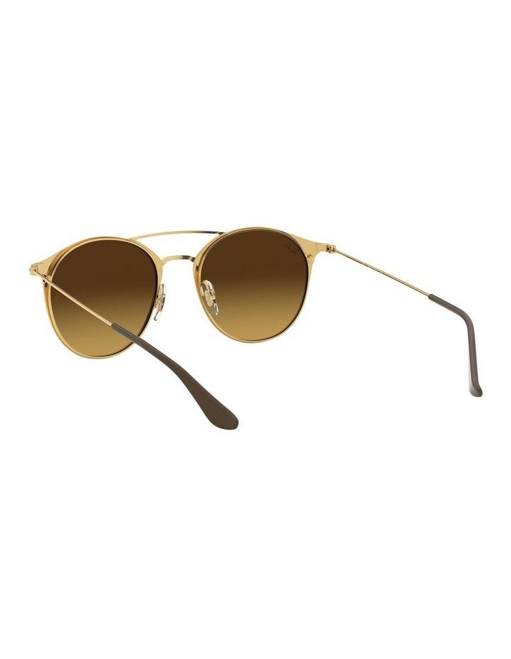 Brown Double Bridge Round Sunglasses 0RB3546 1513014003 image 6