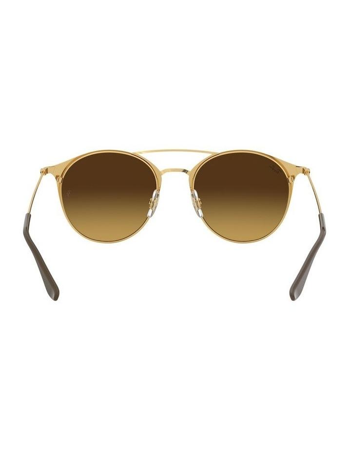 Brown Double Bridge Round Sunglasses 0RB3546 1513014003 image 7
