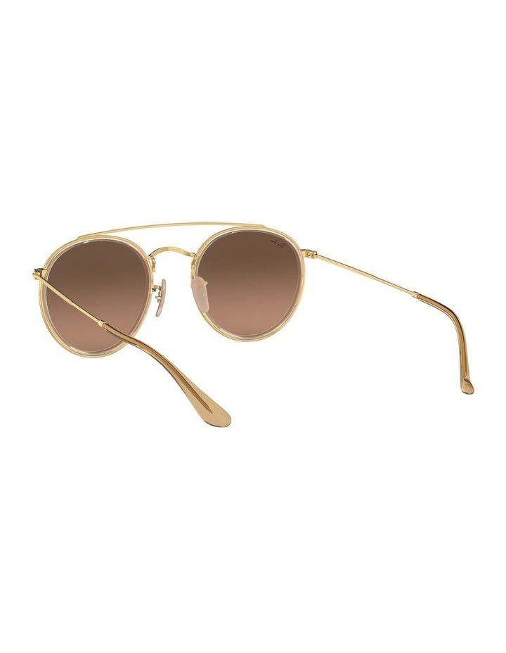 Round Double Bridge Brown Sunglasses 0RB3647N 1515587017 image 6