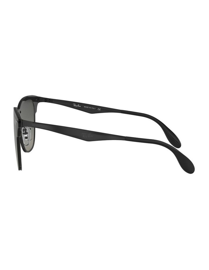 Blaze Clubmaster Grey Sunglasses 0RB3576N 1516112010 image 4