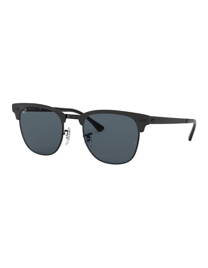 Clubmaster Metal Blue Sunglasses 0RB3716 1518519002 image 1