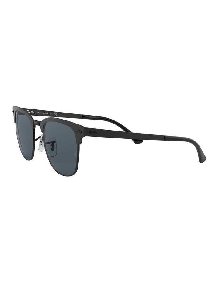 Clubmaster Metal Blue Sunglasses 0RB3716 1518519002 image 3
