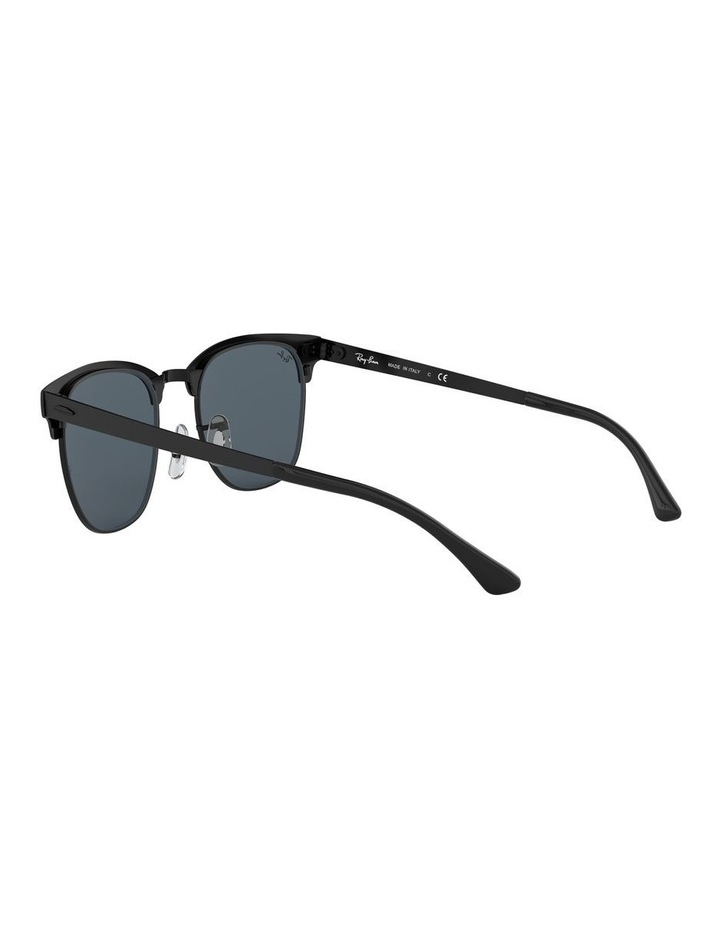 Clubmaster Metal Blue Sunglasses 0RB3716 1518519002 image 5