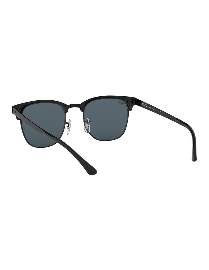 Clubmaster Metal Blue Sunglasses 0RB3716 1518519002 image 6