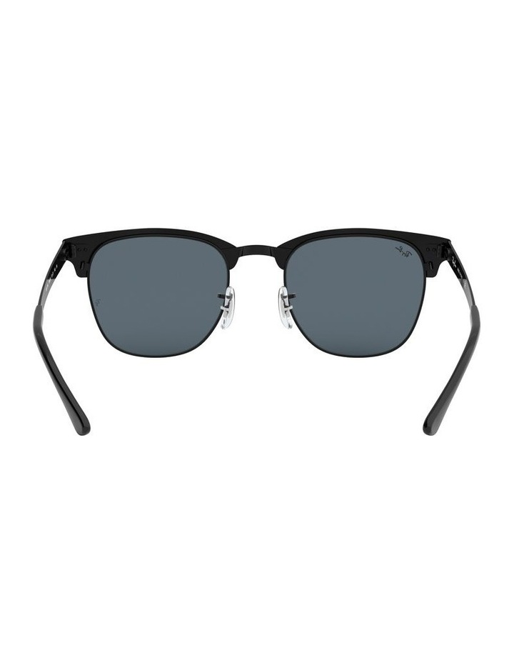 Clubmaster Metal Blue Sunglasses 0RB3716 1518519002 image 7