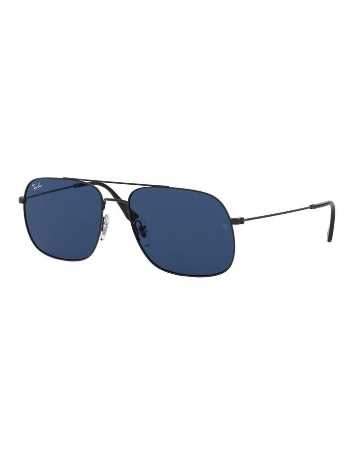 Andrea Blue Square Aviator Sunglasses 0RB3595 1521736004 image 1