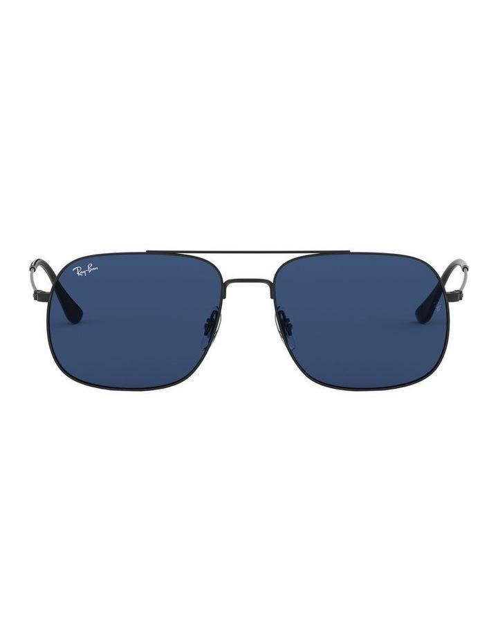 Andrea Blue Square Aviator Sunglasses 0RB3595 1521736004 image 2