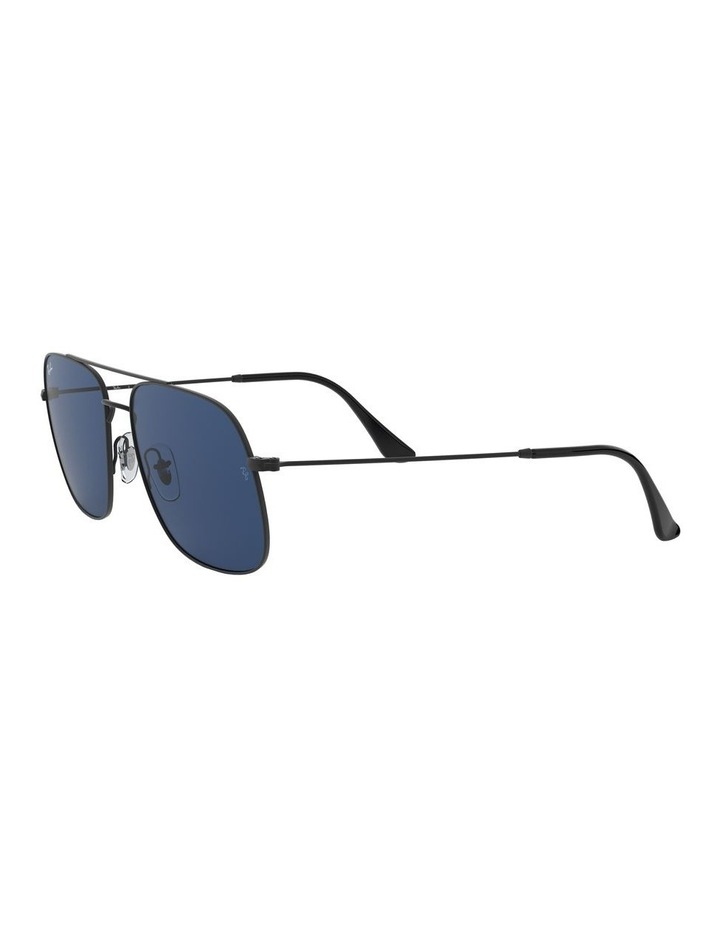Andrea Blue Square Aviator Sunglasses 0RB3595 1521736004 image 3