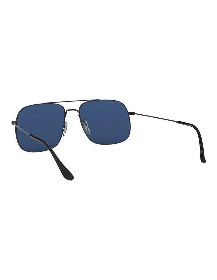 Andrea Blue Square Aviator Sunglasses 0RB3595 1521736004 image 6