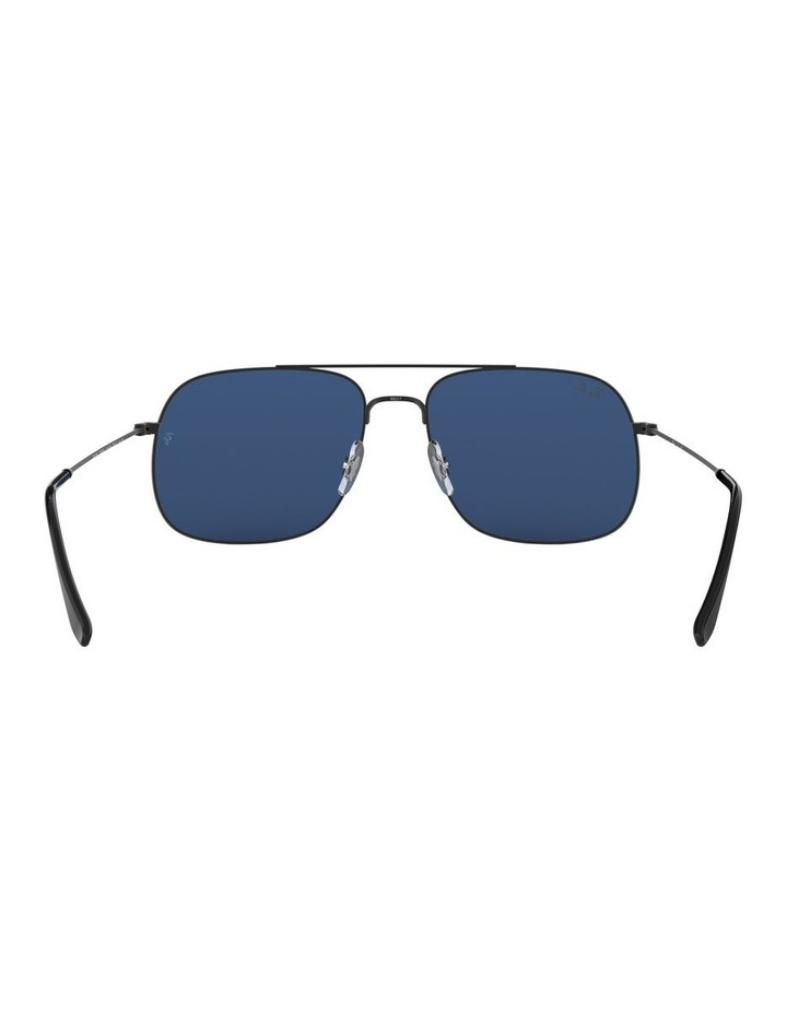 Andrea Blue Square Aviator Sunglasses 0RB3595 1521736004 image 7