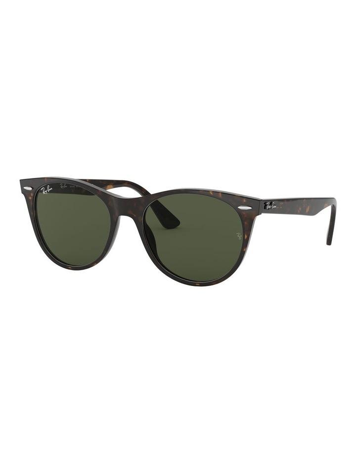 Wayfarer II Green Retro Sunglasses 0RB2185 1523605007 image 1