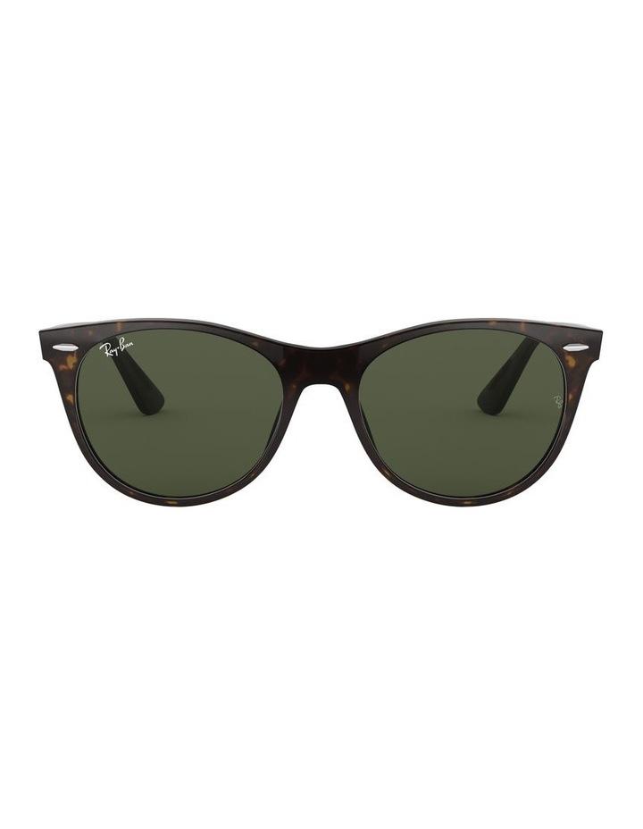 Wayfarer II Green Retro Sunglasses 0RB2185 1523605007 image 2