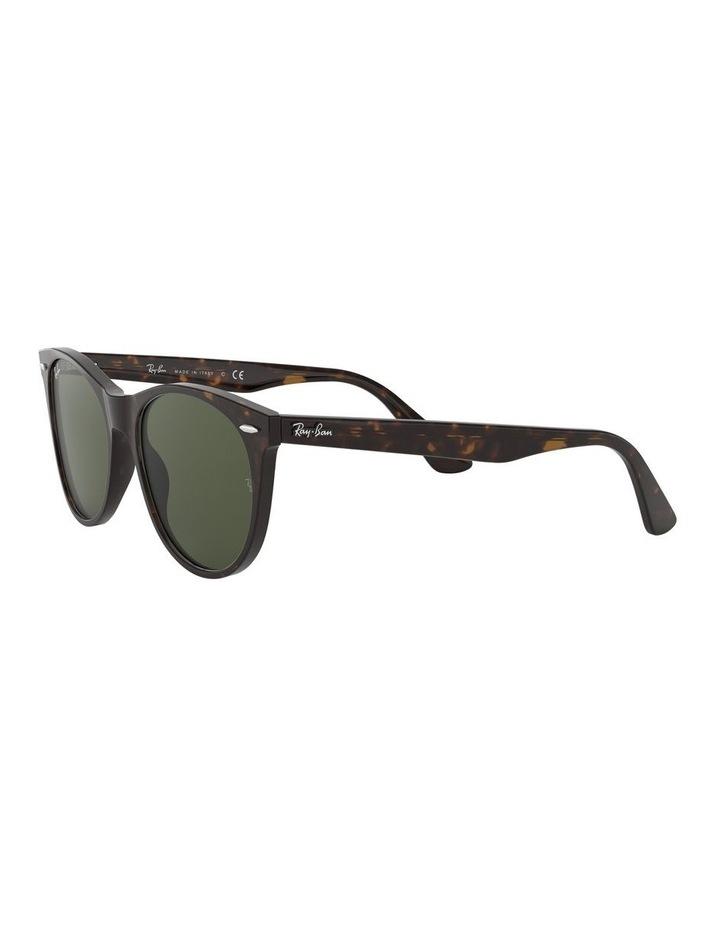 Wayfarer II Green Retro Sunglasses 0RB2185 1523605007 image 3