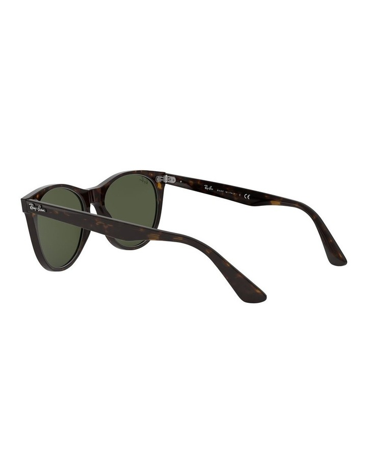 Wayfarer II Green Retro Sunglasses 0RB2185 1523605007 image 5