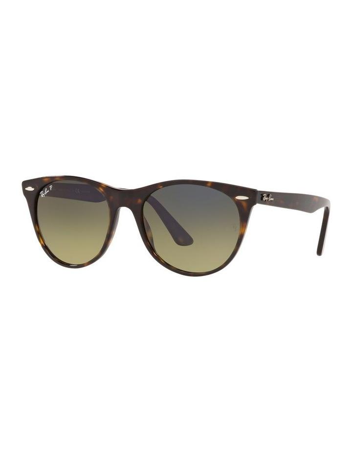 Wayfarer II Polarised Green Retro Sunglasses 0RB2185 1523605010 image 1