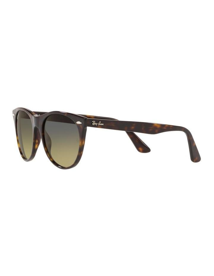 Wayfarer II Polarised Green Retro Sunglasses 0RB2185 1523605010 image 3