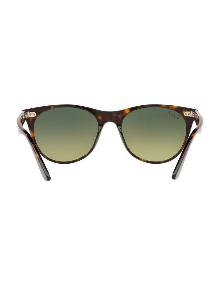 Wayfarer II Polarised Green Retro Sunglasses 0RB2185 1523605010 image 7