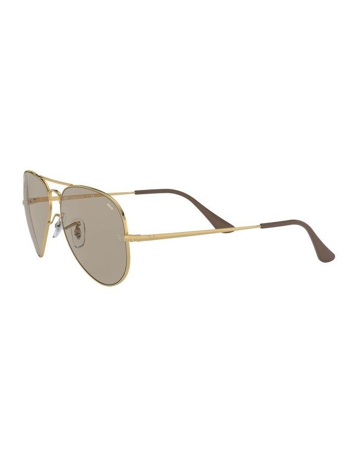 Aviator Metal II Brown Sunglasses 0RB3689 1523705012 image 3