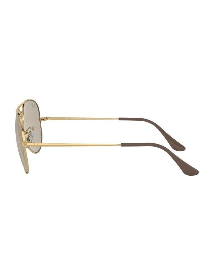 Aviator Metal II Brown Sunglasses 0RB3689 1523705012 image 4