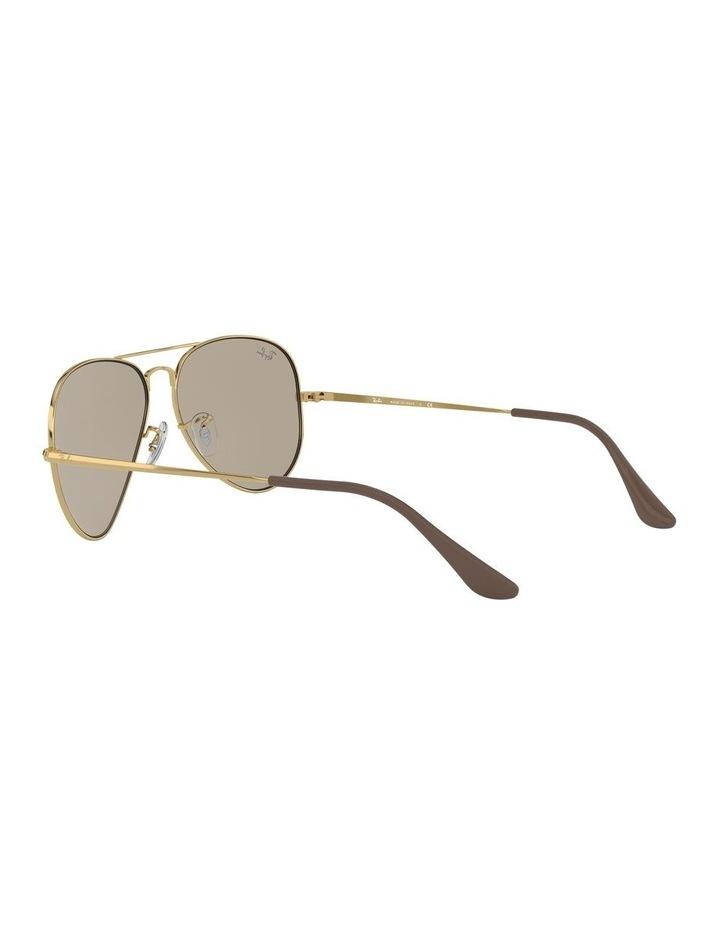 Aviator Metal II Brown Sunglasses 0RB3689 1523705012 image 5