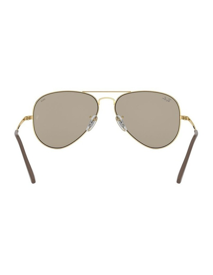 Aviator Metal II Brown Sunglasses 0RB3689 1523705012 image 7