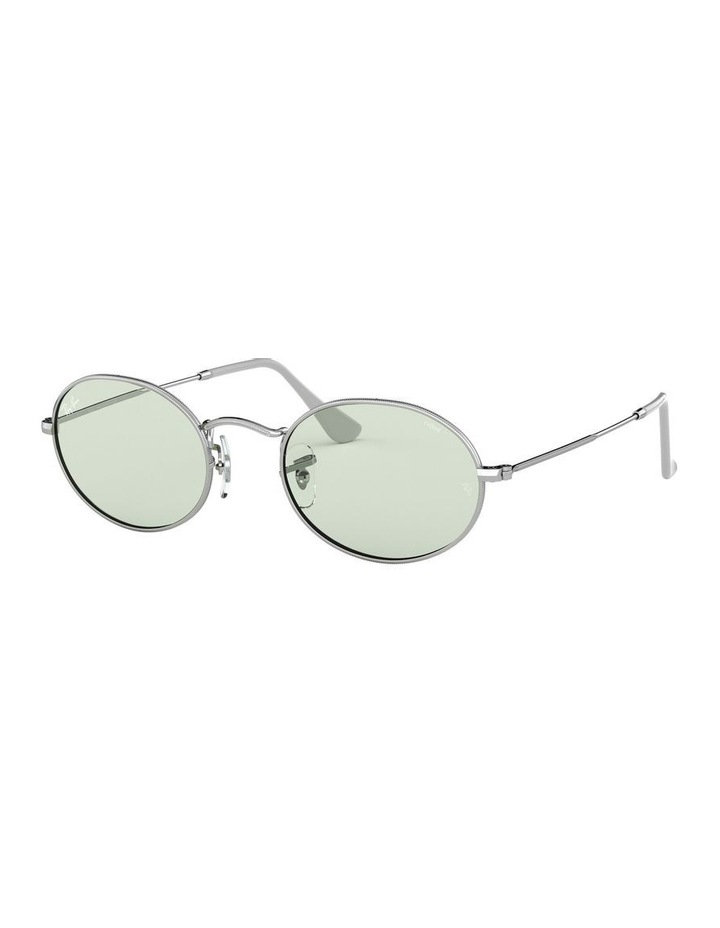Oval Green Sunglasses 0RB3547 1523751007 image 1