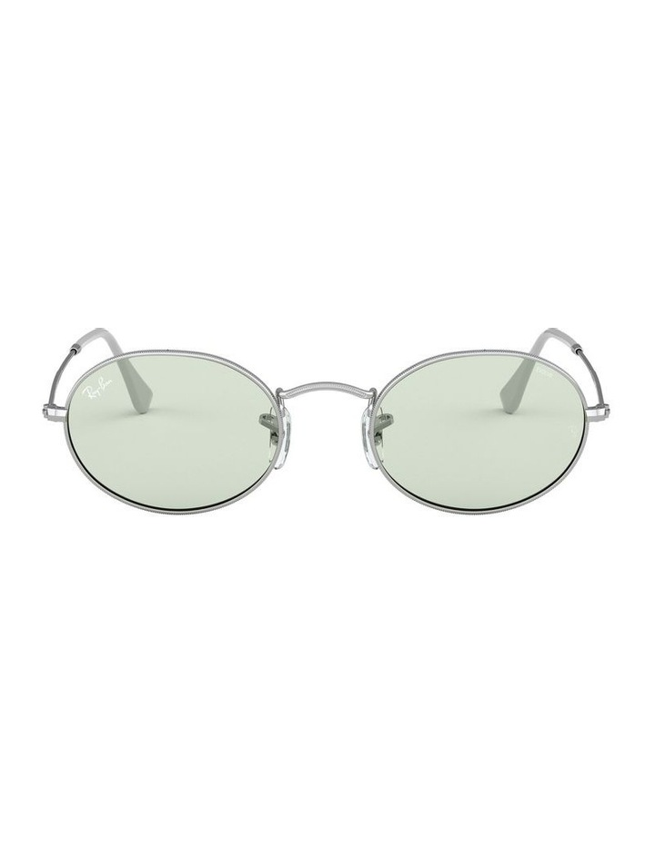 Oval Green Sunglasses 0RB3547 1523751007 image 2
