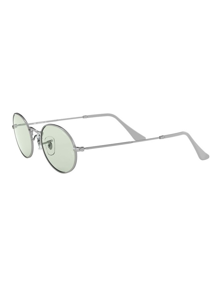Oval Green Sunglasses 0RB3547 1523751007 image 3
