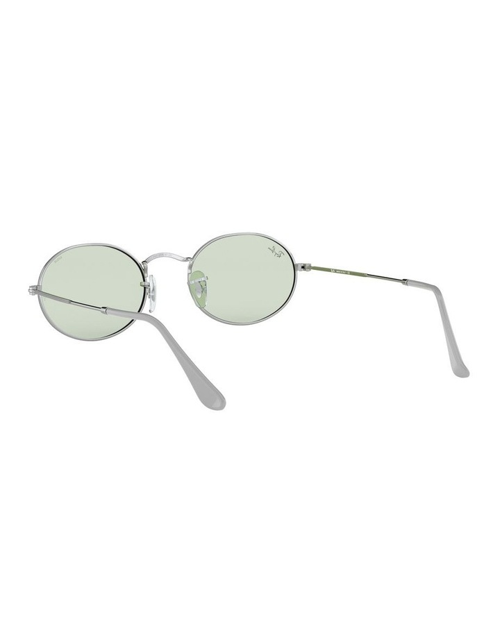 Oval Green Sunglasses 0RB3547 1523751007 image 6