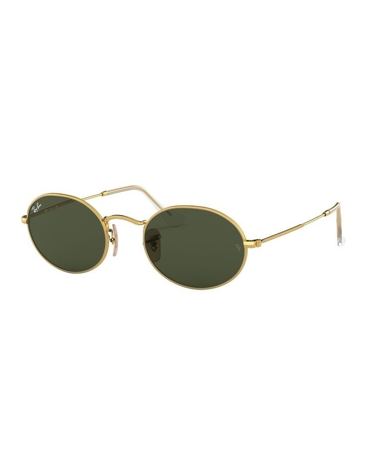 Oval Green Sunglasses 0RB3547 1523752001 image 1