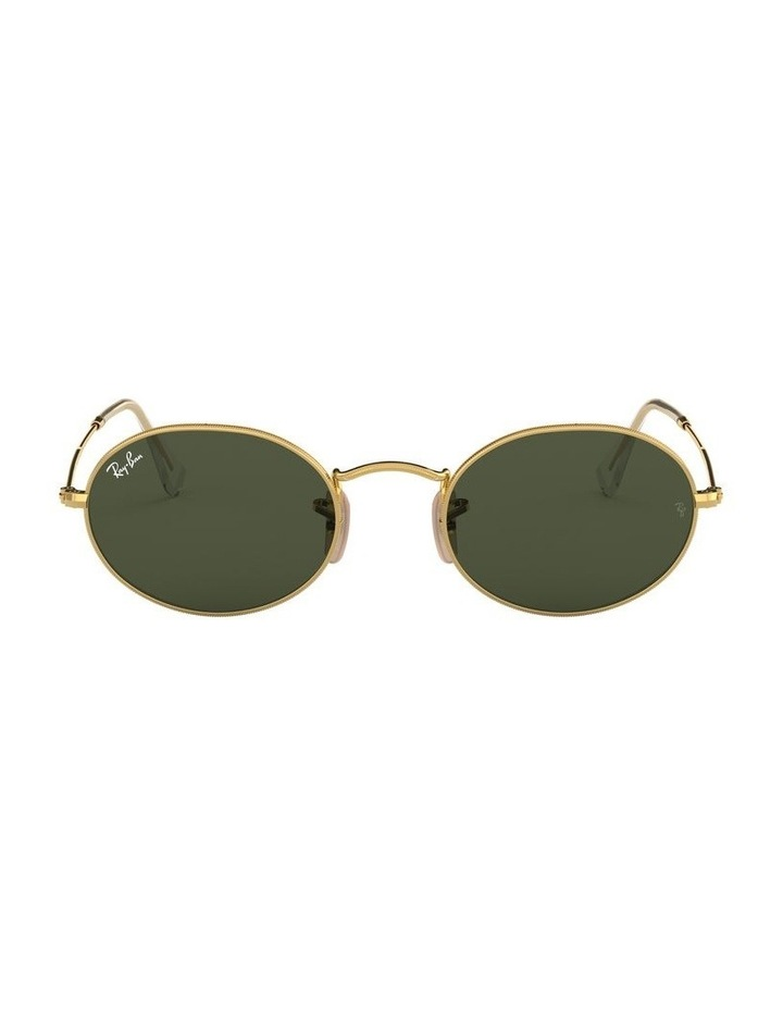 Oval Green Sunglasses 0RB3547 1523752001 image 2