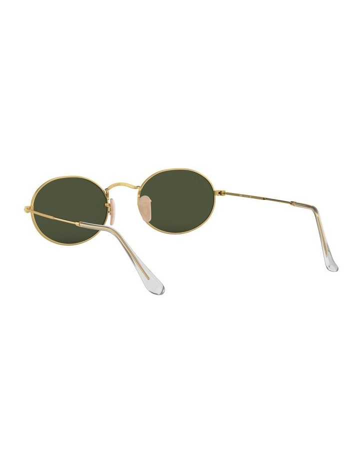 Oval Green Sunglasses 0RB3547 1523752001 image 6