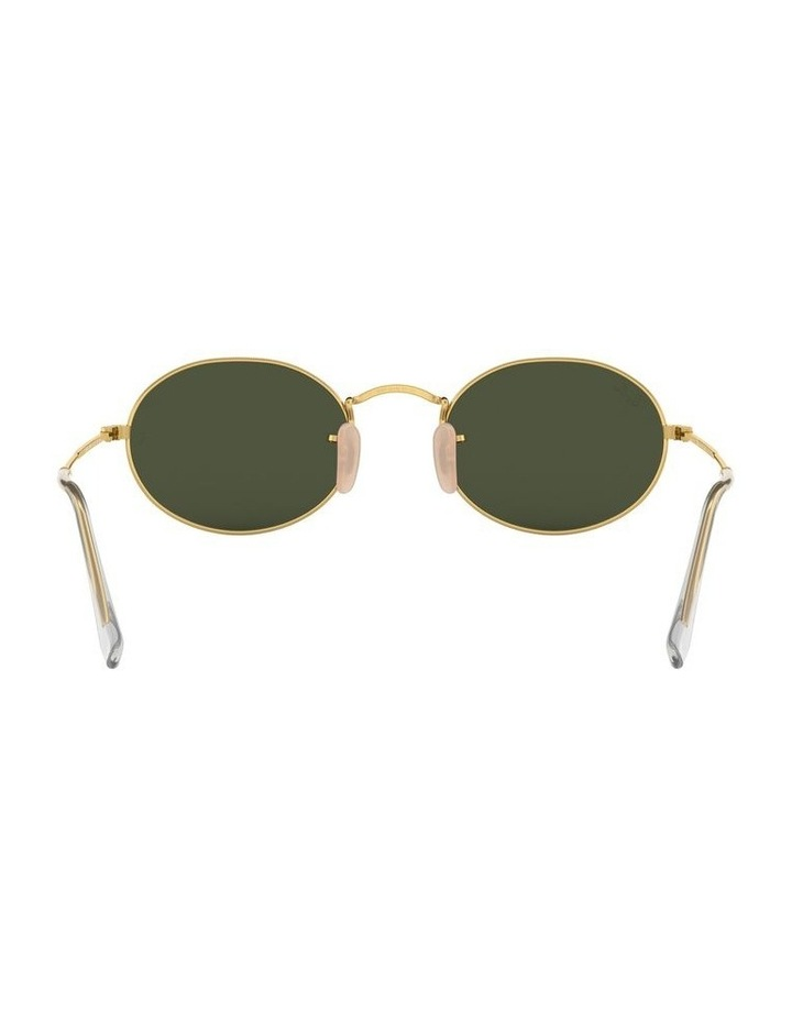 Oval Green Sunglasses 0RB3547 1523752001 image 7