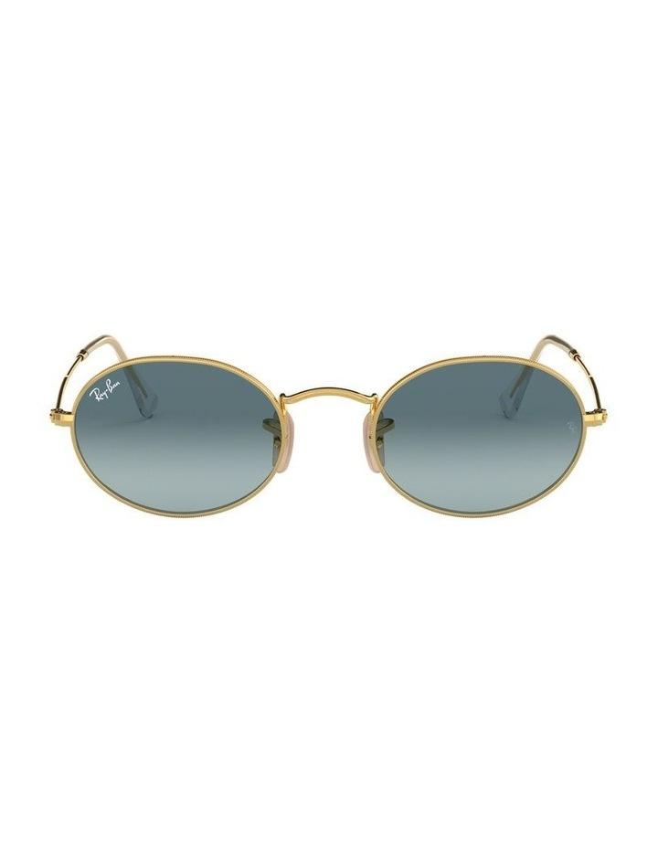 Oval Blue Sunglasses 0RB3547 1523752002 image 2
