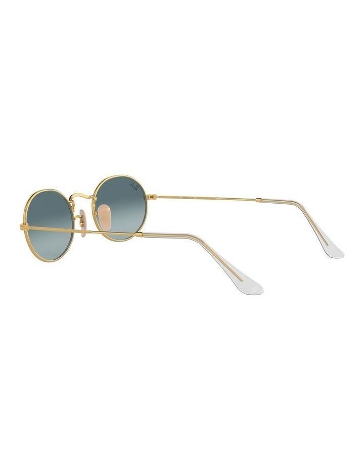 Oval Blue Sunglasses 0RB3547 1523752002 image 5